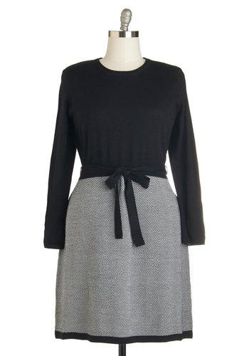 Classroom Charm Dress in Plus Size