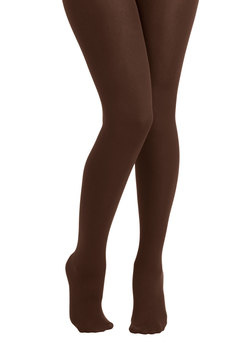 Warming to the Idea Tights in Brown