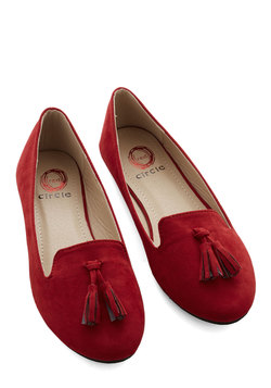 Come On, Get Sassy Flat in Red