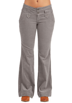 Crisp and Casual Friday Pants in Taupe