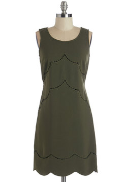 Olive Your Best Moves Dress
