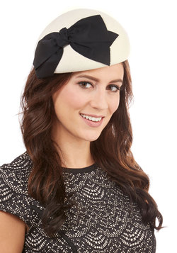 Graceful Garb Hat in Two-Tone