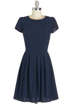 Namesake Cocktail Dress in Navy