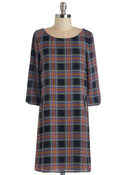Plaid Behavior Dress