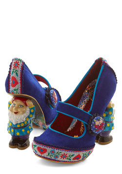 There's No Pace Like Gnome Heel