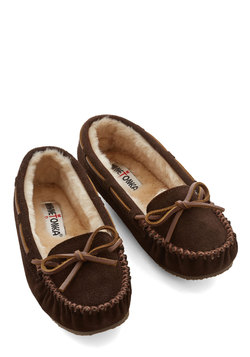 Classically Cozy Slipper