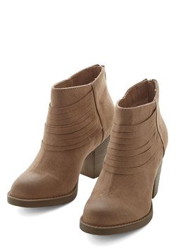 Life is Strut a Dream Bootie in Sand