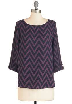 Amaryllis Adventure Top in Purple