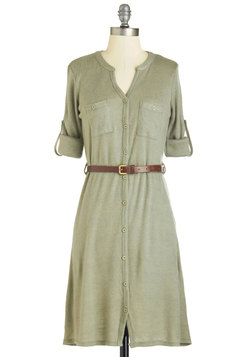 T.A.-Okay Dress in Sage