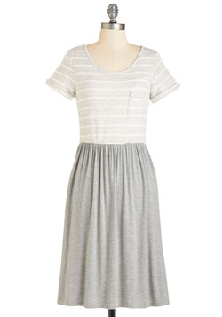 Laid-back to the Basics Dress