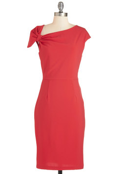 Keep It Simple, Cupid Dress in Red