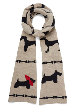 On Your Bark, Get Pet, Go! Scarf