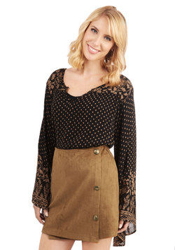 Butterscotch and Soda Skirt