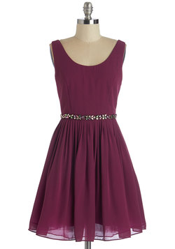 Sage a Dance Dress in Berry