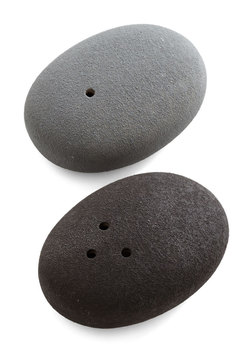 Mineral Minimalism Salt and Pepper Shakers