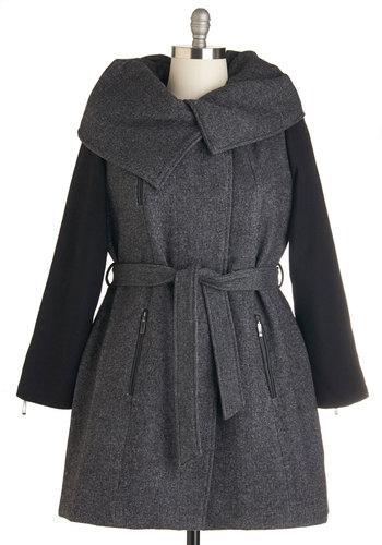 Alpining Away Coat in Plus Size