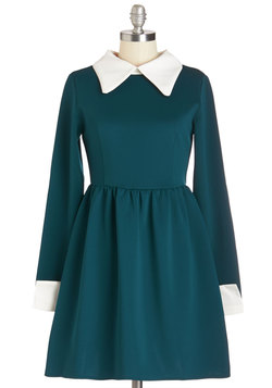 Far Haute Dress in Teal