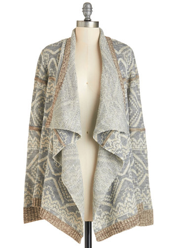 Rustic Relaxation Cardigan