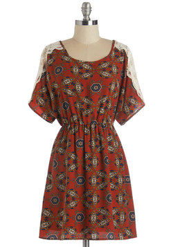 Travelogue Cabin Dress