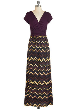 A Capella Sessions Dress in Plum