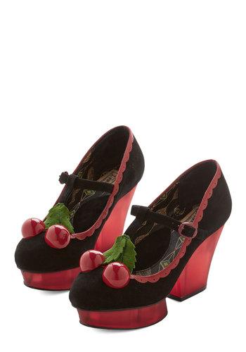 Cherries to Cherish Heel