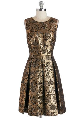 Crisp Champagne Dress