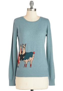 I Got it From My Llama Sweater
