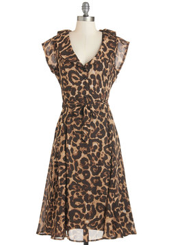 Stealth and Stylish Dress in Leopard