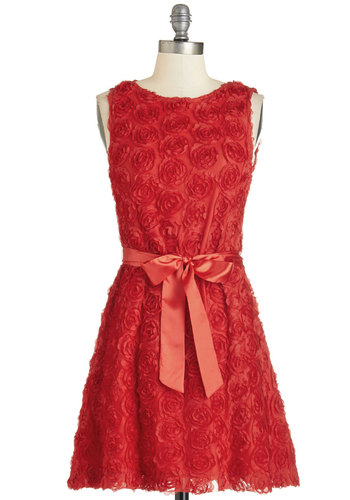 Everything's Coming Up Rosettes Dress