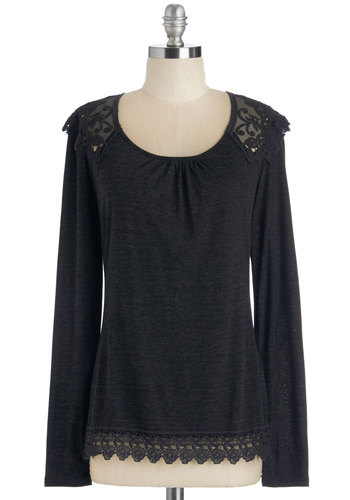 Grace and Lace Top in Long Sleeves