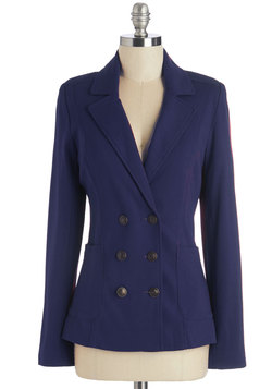 A Snappy Medium Blazer in Navy