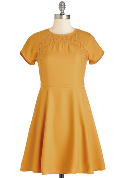 Marigold Rush Dress
