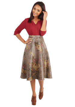 Eva Franco Until Morning Light Skirt
