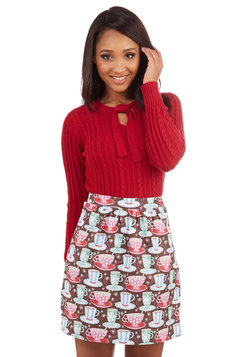 Hot Chocolate Charm Skirt
