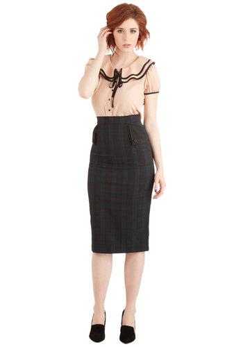 Somewhere Along the Lines Skirt