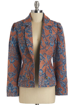 Got Style on Tapestry Blazer