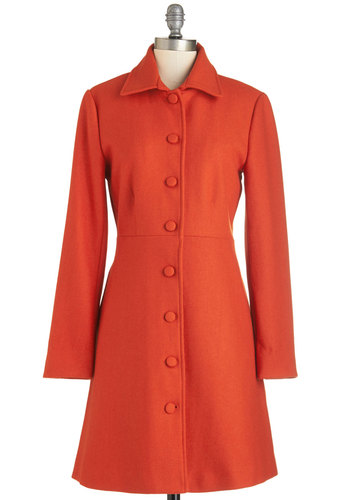 Pumpkin Patch Pose Coat