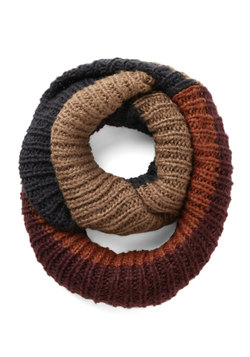 What's Up, Block? Circle Scarf in Autumn