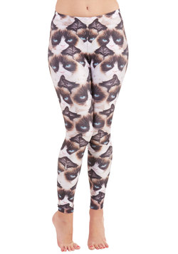 Can't Get No Cat-isfaction Leggings