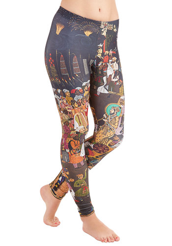 Imaginative Merriment Leggings in Procession