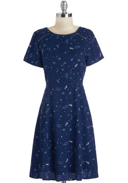 Saddle Star Galactica Dress