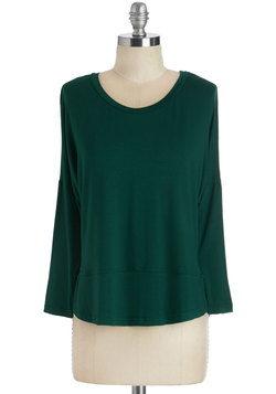 Layer on Loveliness Top in Forest