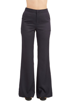 Assign of the Times Pants in Navy