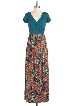 Sing-along With Me Dress in Paisley