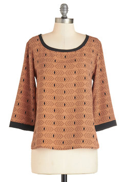 Apricot Appeal Top
