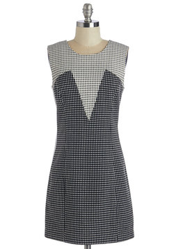 Get on the Grid Dress