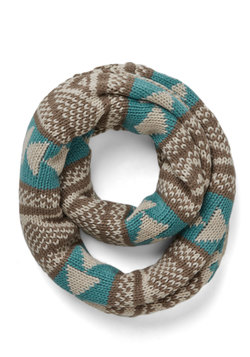 Bring Around the Cozy Scarf in Turquoise