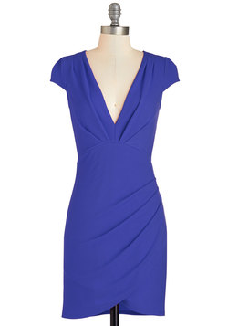 The Mingle Life Dress in Cobalt