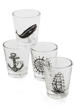 Take a Swig, Mate Shot Glass Set