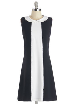 Collar the Shots Dress